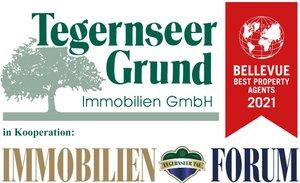 Logo von Tegernseer Grund Immobilien GmbH